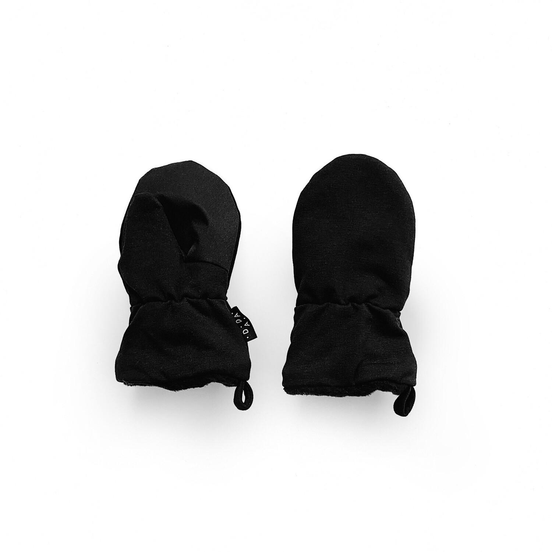 Утеплённые варежки (с пальчиком)