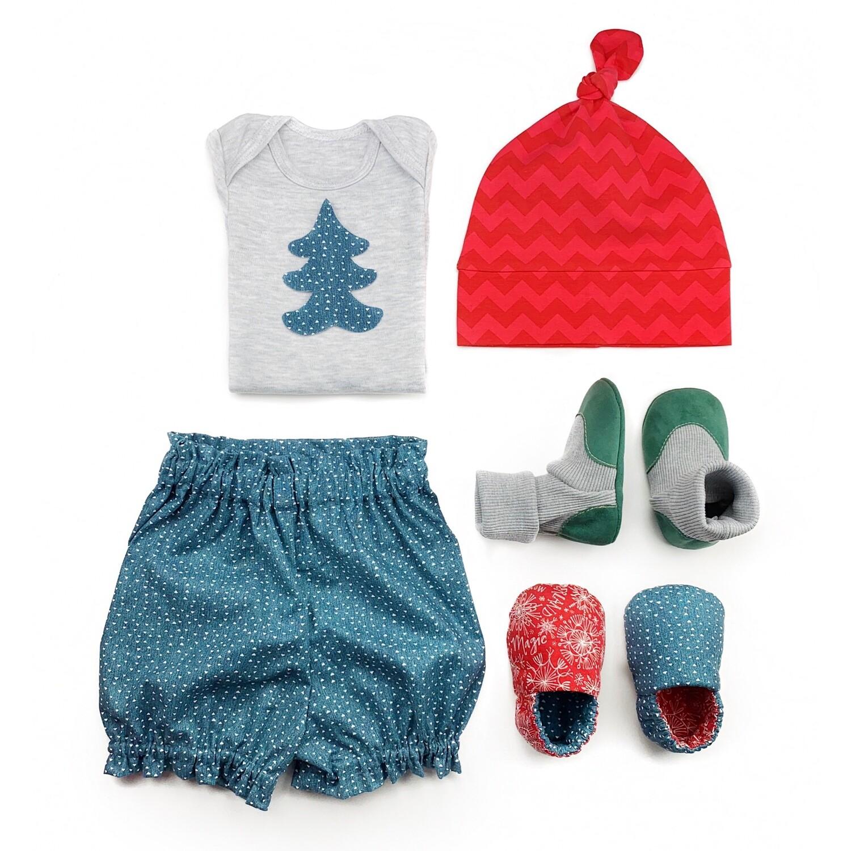Комплект боди, блумеры, шапочка, socks и моксы
