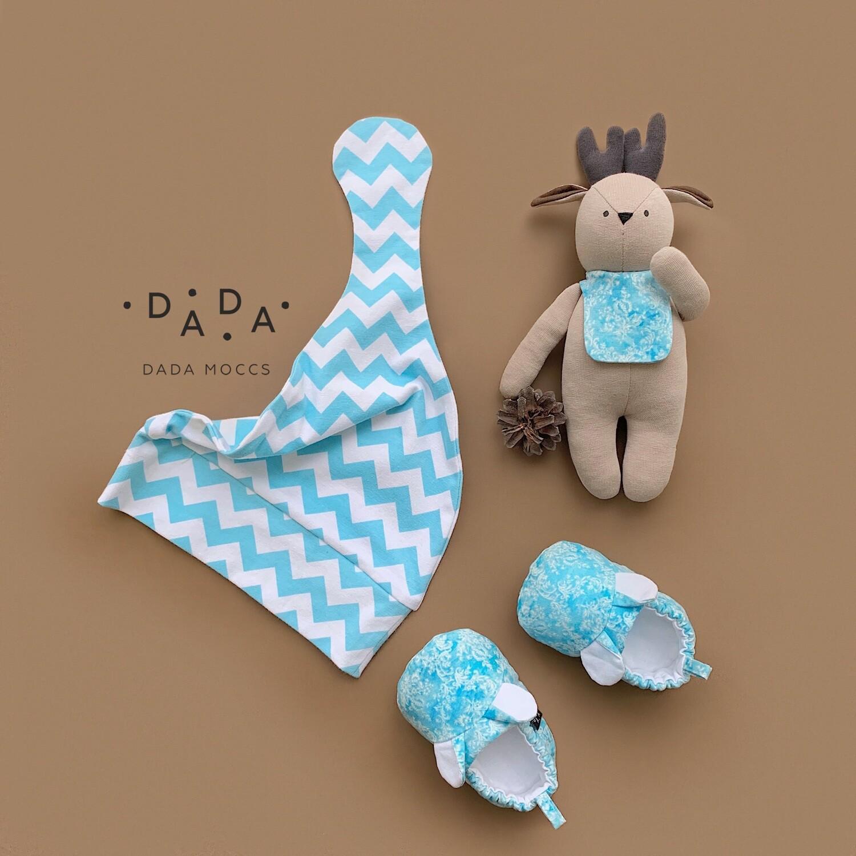 Комплект шапочка с узелком, моксы-мышки и игрушка