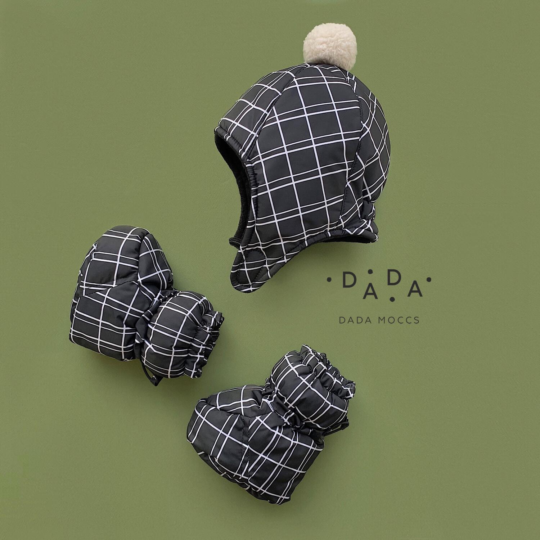 Комплект зимняя шапка и Dada Moon