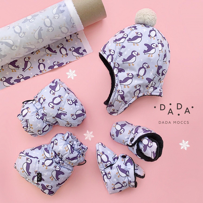 Комплект зимняя шапка и Dada Moon или Booties