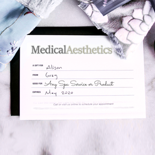 Med Spa Gift Certificates gc-0001
