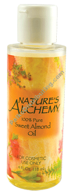 Sweet Almond Oil 4 Oz. (954785)