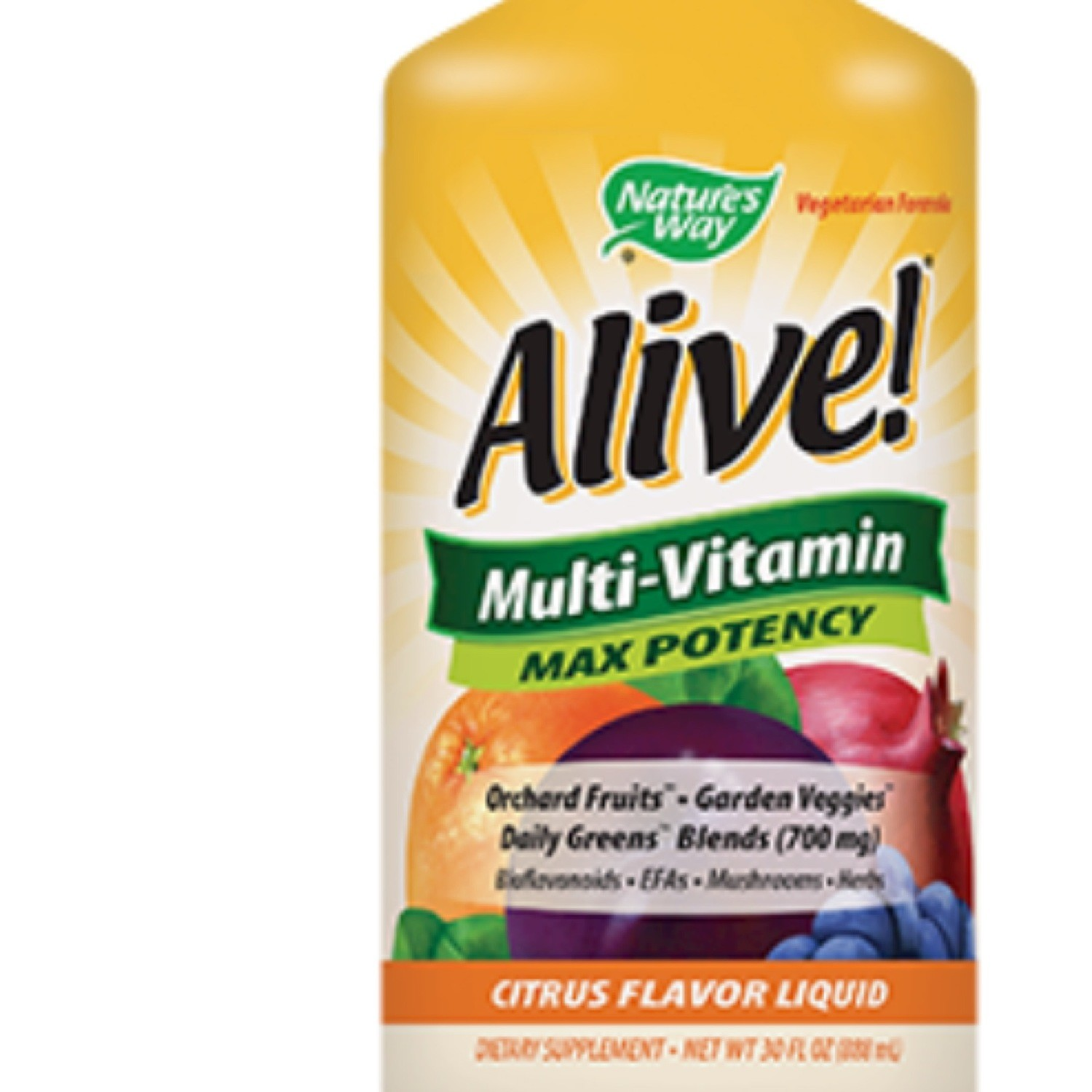 ALIVE! LIQUID MULTI 30 OZ (EE ALI24)
