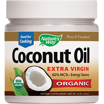 COCONUT OIL 16OZ (EE COCO9)