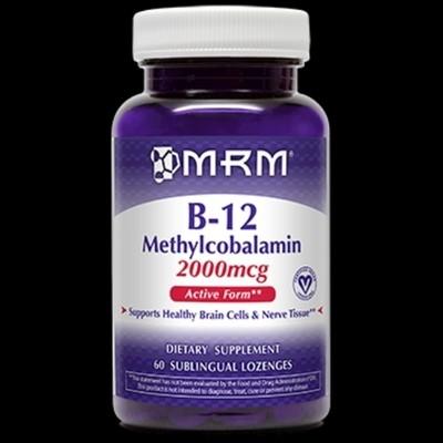 B-12 METHYLCOBALAMIN 2000 MCG 60 1OZ (B12ME)