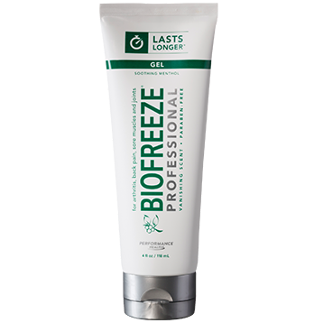BIOFREEZE PRO GEL COLORLESS 4FL OZ (EE B16203)