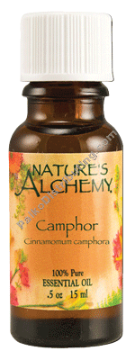 Camphor essential oil 0.5 fl oz (96303)