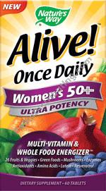 Alive Multi Women 50+ 60 Tabs (PA 153692)