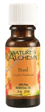 Basil essential oil 0.5 fl oz (96301 PLKO)