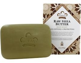 Bar Soap Raw Shea & Myrrh (091763)