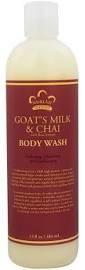 Body Wash Goat's Milk & Chai 12oz.