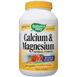 CALCIUM, MAGNESIUM & ZINC 250 CAPS