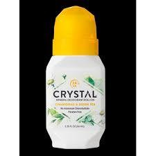 Crystal Chamomile green Tea Deodorant