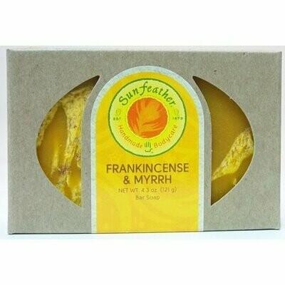 Sunfeather handmade body care Frankincense & Myrrh (100169)