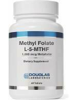 Methyl Folate L-5-MTHF 60 tabs
