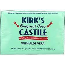 Kirk's Original Coco Castle w/h aloe vera (170273-7)