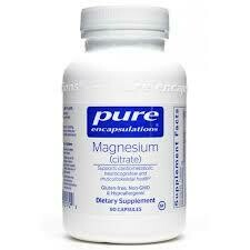 Magnesium (citrate) 150 mg 90 vcaps (MAG47)