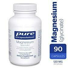 MAGNESIUM (GLYCINATE) 120 MG 90 VCAPS (MAG49)