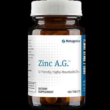 Zinc A.G. 20 mg 180 tabs (ZN026)