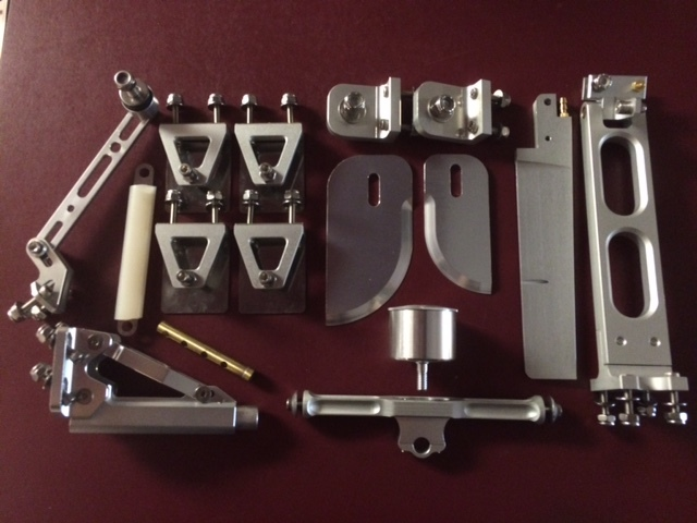 Mono/V bottom rear Hardware kit