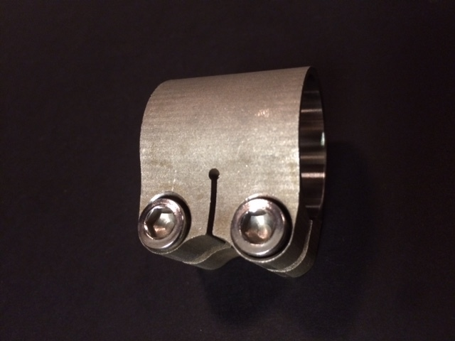 CC Racing Stainless split 2 Bolt Pipe Clamp