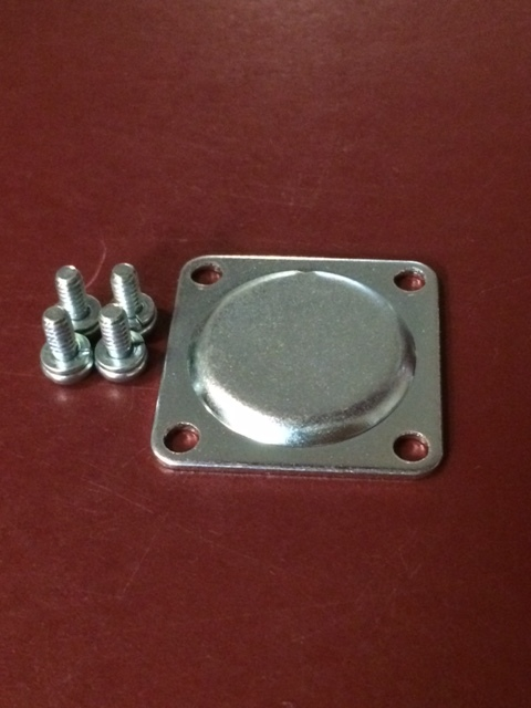 Walbro pump cover with screws.
