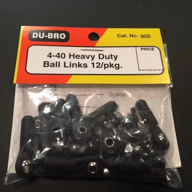 4/40 Heavy Duty Ball Links