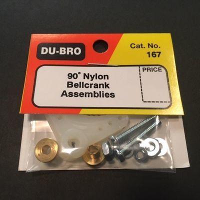 90deg Nylon Bellcrank Assembly