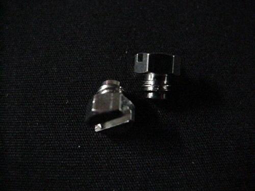 Nickel Plated 10/32 Plugs