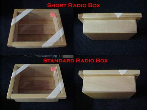 CC Racing Wood Radio Box