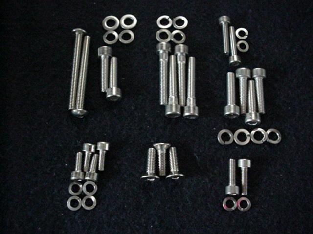 CC Stainless Bolt Kit