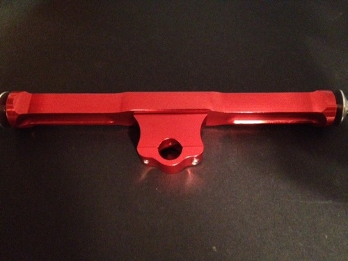 CC Racing T-bar (Red anodized)