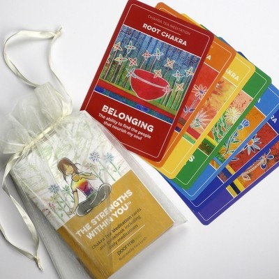 The Strengths Within You: Chakra Tea Meditation Cards
