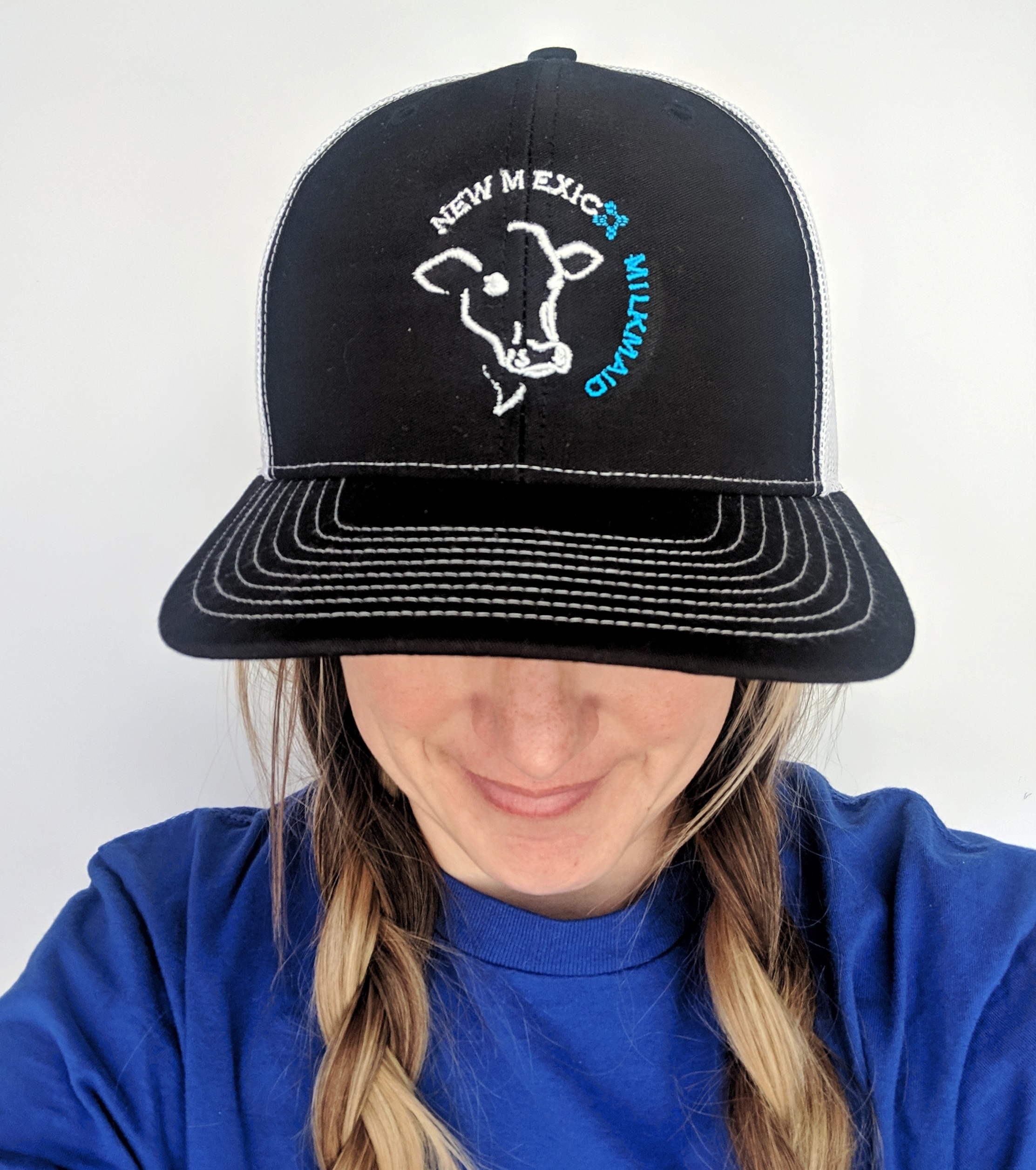 NM Milkmaid Logo Trucker Hat