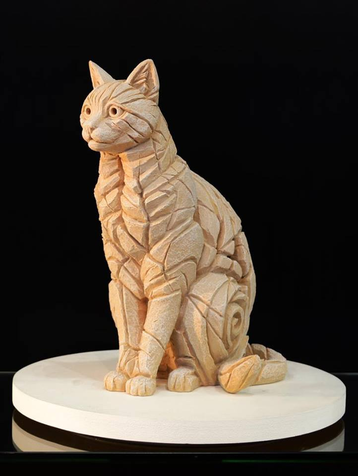 Cat Sitting - Yorkstone for Outdoors 11630