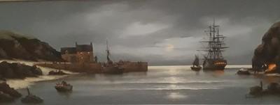 Moonlit Quay