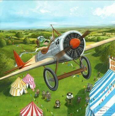 Mr Toad's Fantastic Air Display