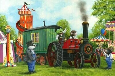 Mr Toad and Moley's Steam Adventures