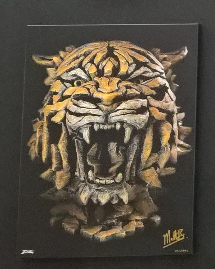 Tiger - Canvas 11101