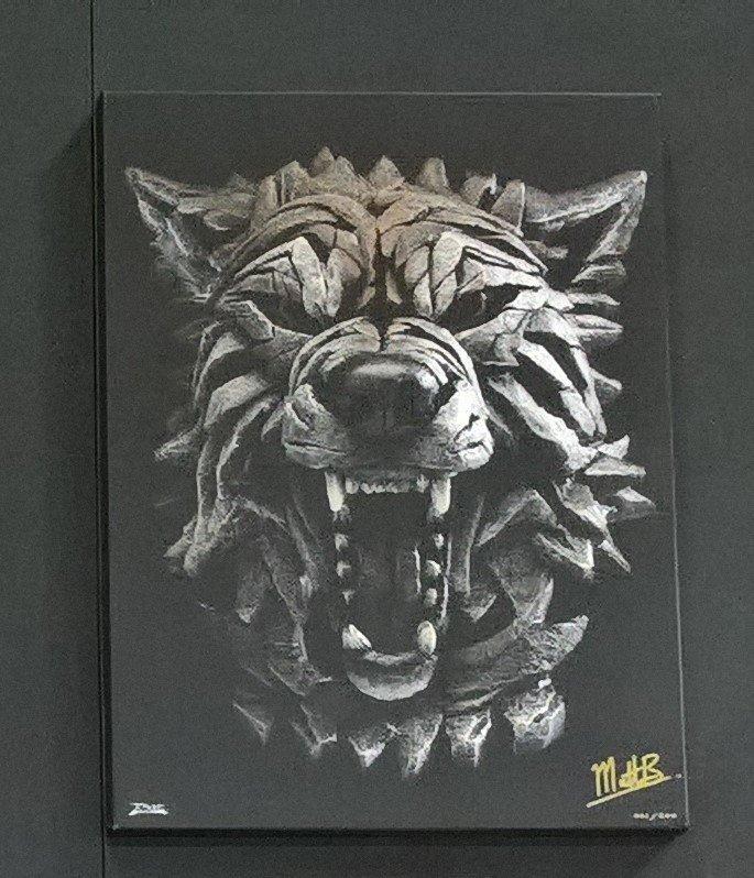Wolf - Canvas 11103