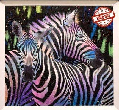 Zebras Together
