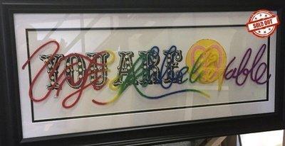 Colourful Language Artist Proof #1