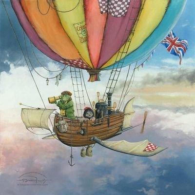 Mr Toad & Moley's Fantastic Flying Machine