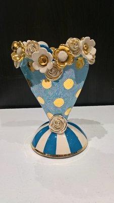 Sweetheart Vase - Blue