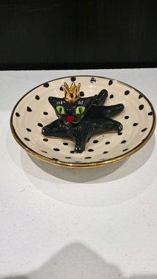 Cat In A Dish
