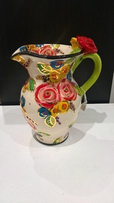 Rose Handled Jug - Medium