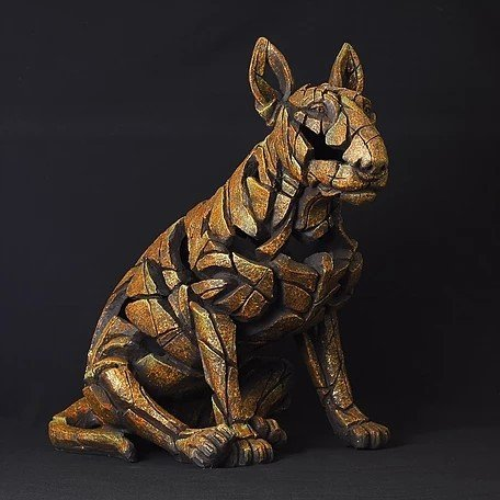 Bull Terrier - Smouldering Brown Rust 11112