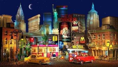 New York Fantasy - Medium