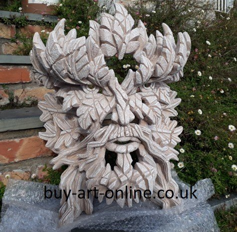 Green Man - Yorkstone for Outdoors